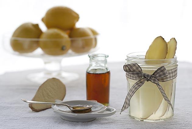 Lemon and Ginger Tea | Joy of Yum