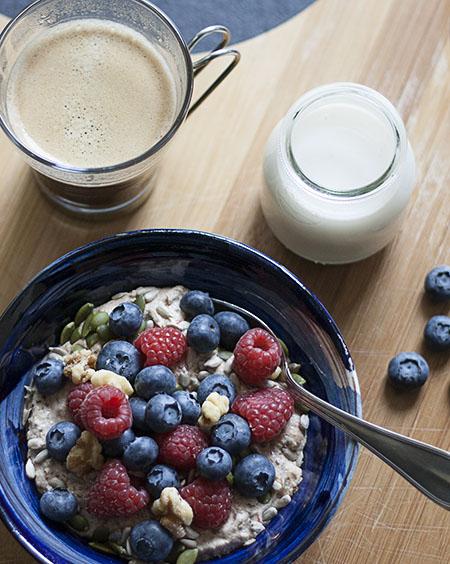 Raw Buckwheat Porridge | Joy of Yum