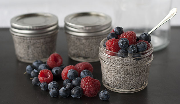 Whole Food Plant Based Lifestyle |Chia Seed Pudding | Joy of Yum