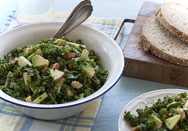 joy of yum kale salad