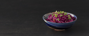 Red Cabbage Salad | Whole Food Plant Based Lifestyle