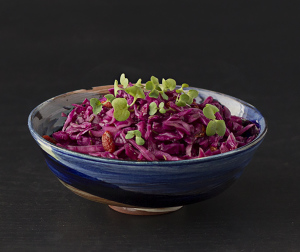 Red Cabbage with Greens | Whole Food Plant Based Lifestyle | Joy of Yum