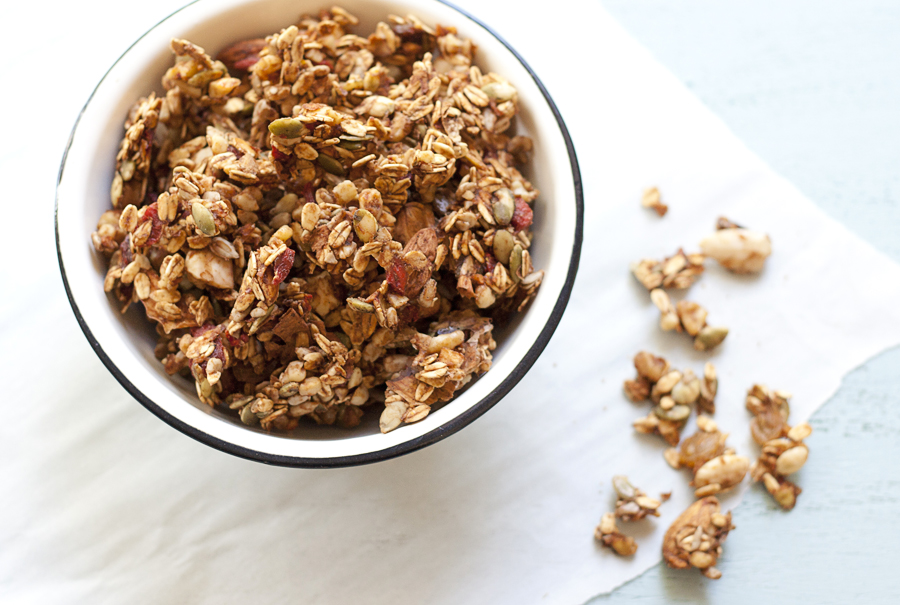 Raw Granola |Whole Food Plant Based Lifestyle | Joy of Yum