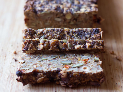 Goji Berry & Hazelnut Bread Slices | Joy of Yum