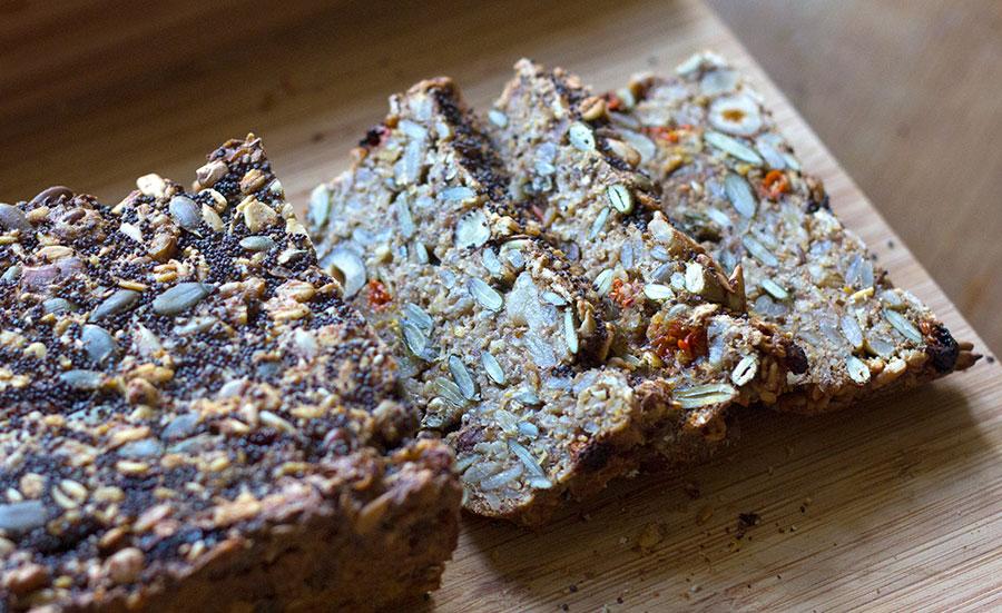 Goji Berry & Hazelnut Bread | Joy of Yum