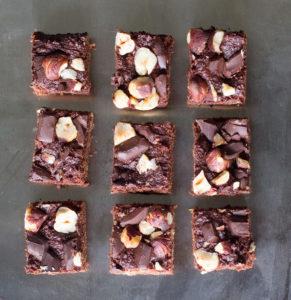 Dark Chocolate Hazelnut Bites | Joy of Yum