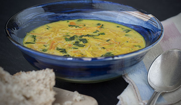 joy of yum carrot and kale soup