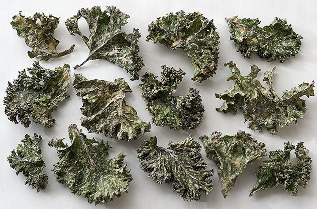 Joy of yum kale chips