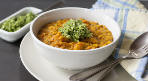 Dal with Delicate Green Chutney | Joy of Yum