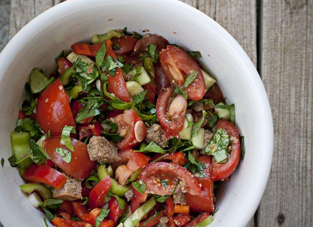 Gazpacho Marinating | Joy of Yum