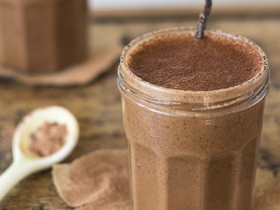 Coffee and Cacao Smoothie | Joy of Yum