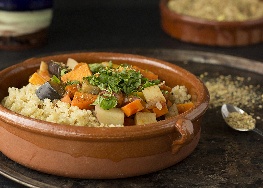 Fragrant Moroccan Vegetable Stew | Joy of Yum