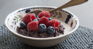 Black Rice Pudding | Joy of Yum