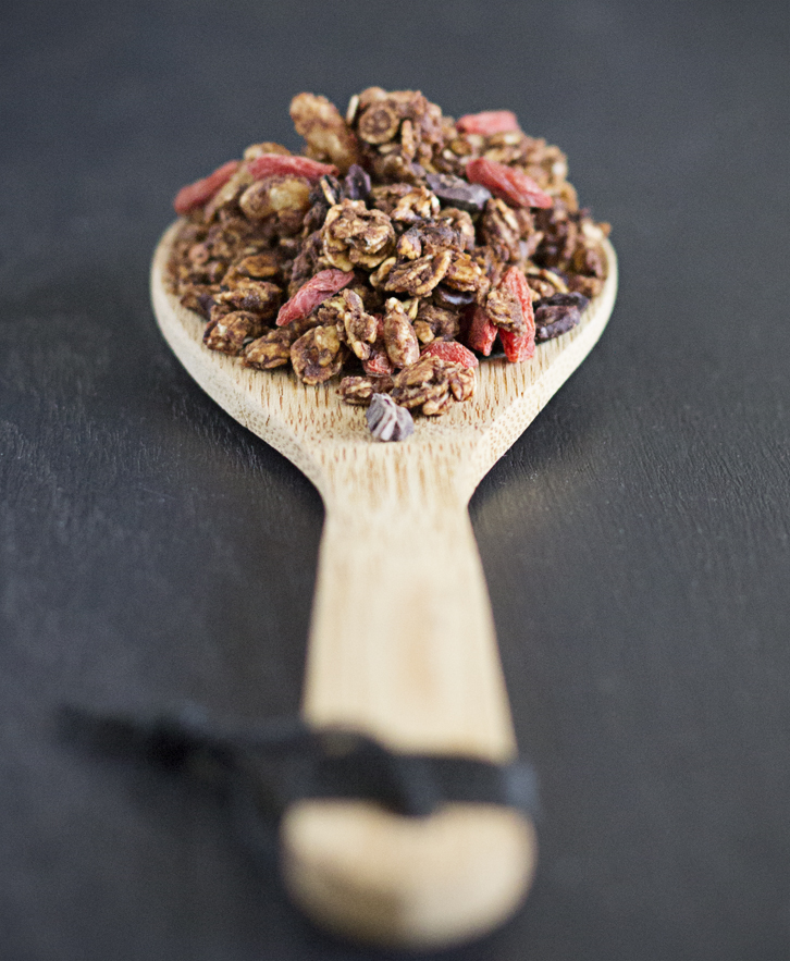 Joy of Yum | Double Chocolate Granola