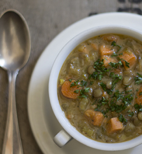 Hearty Lentil Soup | Joy of Yum
