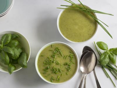 Delicate Courgette & Potato Soup | Jo of Yum