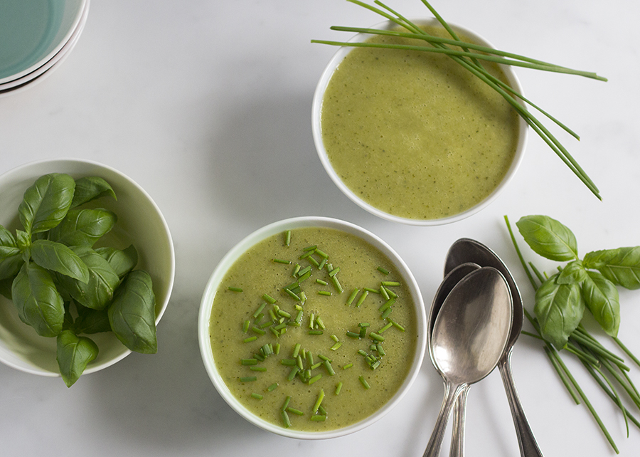 Delicate Courgette & Potato Soup | Jo of Yum