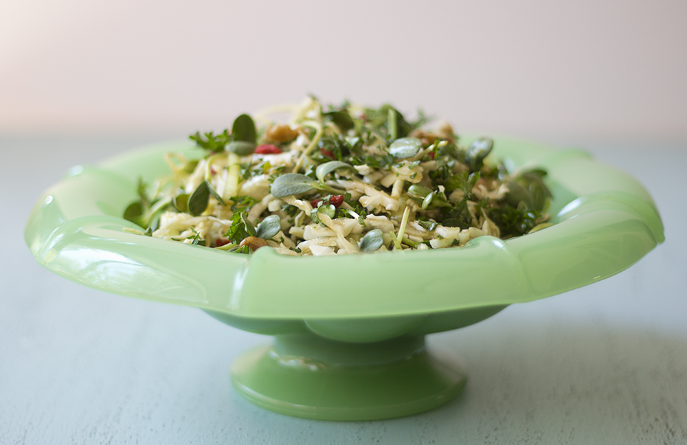Heart Healthy Cabbage Salad | Joy of Yum
