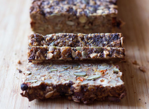 Goji Berry & Hazelnut Bread Slices | Joy of Yum